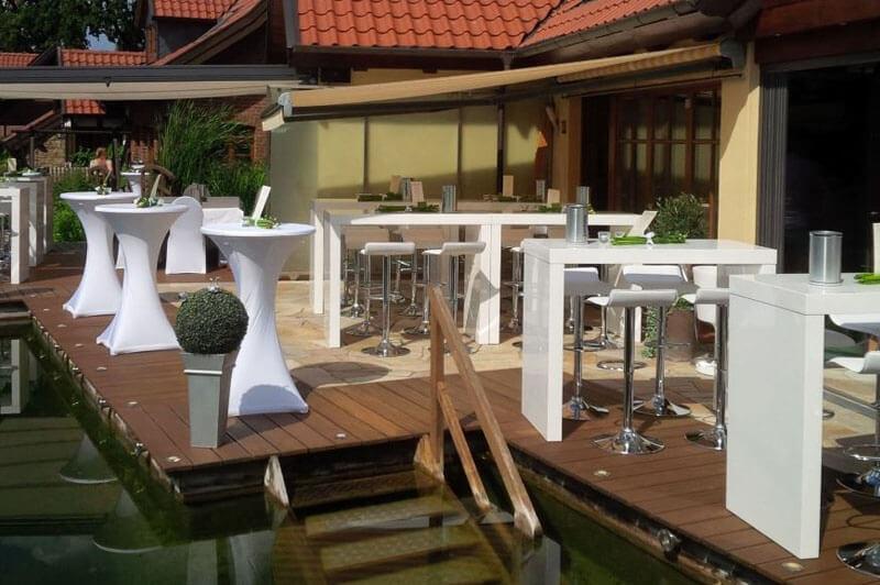 Stehtische mieten lounge4event for Stehtisch mit barhocker kombination