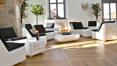 deutschlandweit lounge f r geburtstag feier party. Black Bedroom Furniture Sets. Home Design Ideas