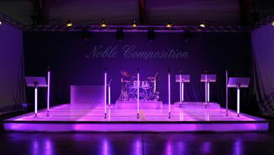LED Bühne mieten