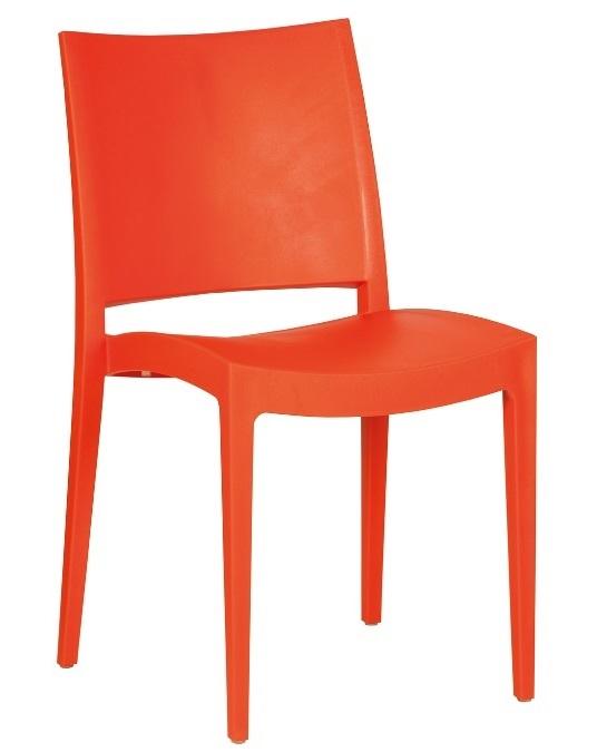 Stuhl Specto orange mieten