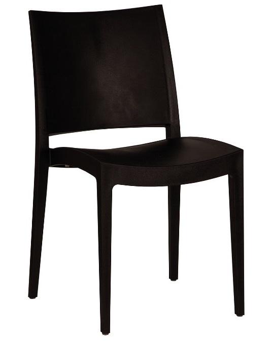 Designerstuhl schwarz mieten