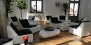 Fiberglas Loungebereich
