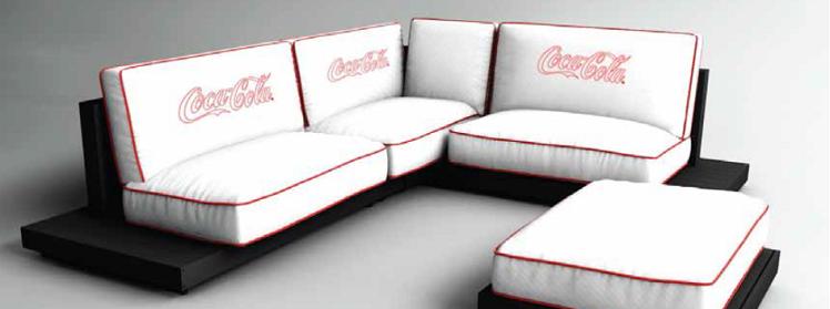 Bedruckte Möbel