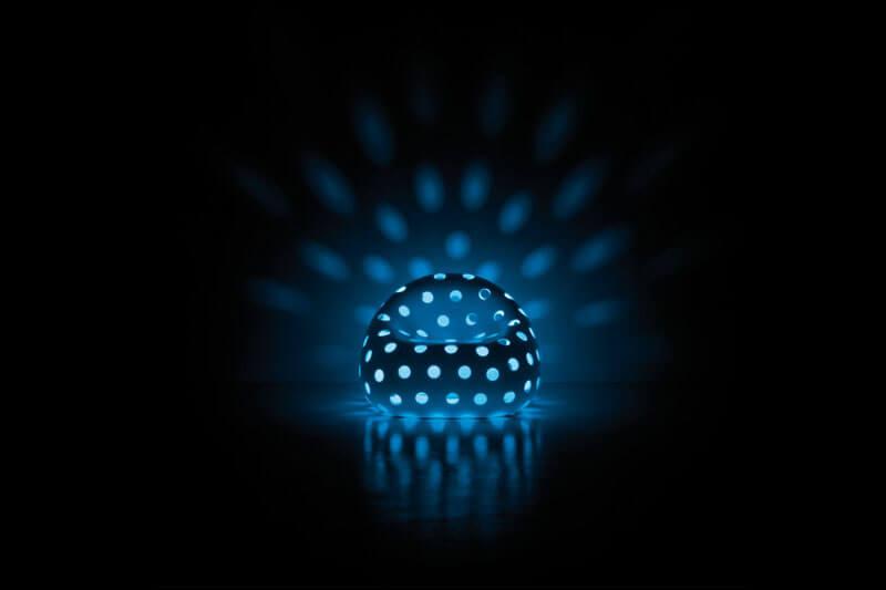 Airball blau