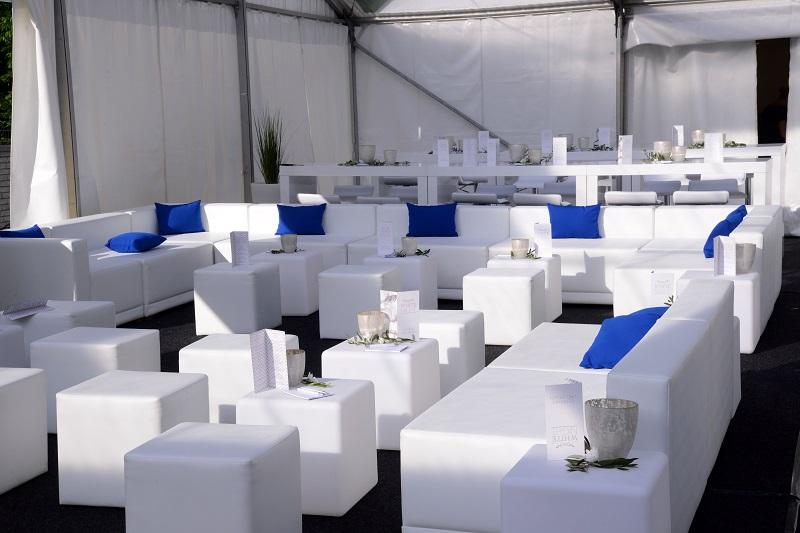Loungebereich für Hochzeit