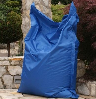Sitzsack blau - beanbag blue