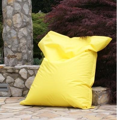 Sitzsack gelb - beanbag yellow