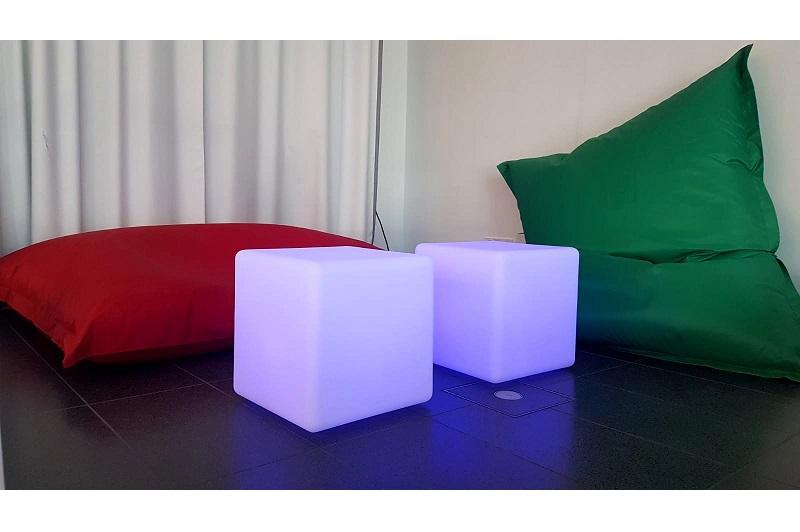 Sitzsack LED Cube