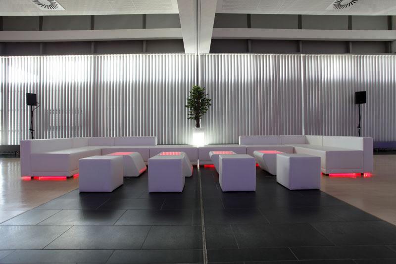 LED Loungemöbel mieten